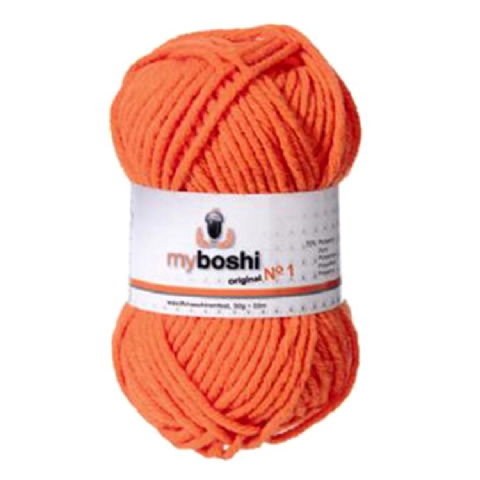 Orange 131 - Wool Balls 50g For DMC Myboshi Beanie Hats